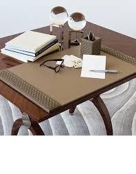 Beautiful Desk Accessories Desk Accessories Luxury Designer Executive Mink Leather Desk Pad