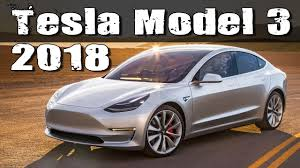 2018 tesla model 3 production version vs bmw 3 series youtube