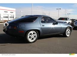 1982 porsche 928 pacific blue metallic 1982 porsche 928 standard 928 model exterior