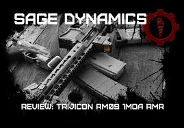 review trijicon rm09 1 moa rmr youtube