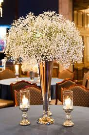 Gold Vases For Weddings Best 25 Babies Breath Centerpiece Ideas On Pinterest Babies