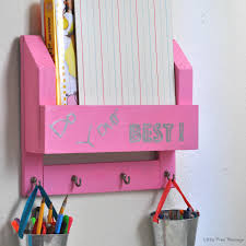Diy Kid Desk Diy Desk Organiser And Homework Station Anika S Diy