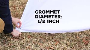 Outdoor Curtains With Grommets Stablizing Outdoor Curtain Grommets For Wind Youtube