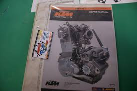 ktm 400 520 engine repair service manual sx exc binder u2022 29 95