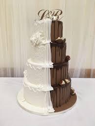 wedding wishes cake half half wedding cake dreams and wishes cake company