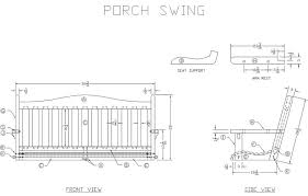 porch blueprints the stylish along with porch swing plans intended for
