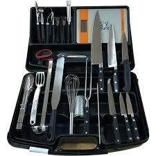 set de couteaux de cuisine professionnel set de couteaux de cuisine professionnel mallette couteaux et