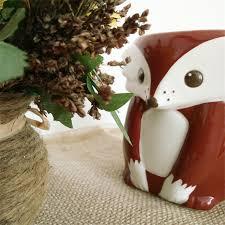 Decorating Porcelain Mugs Aliexpress Com Buy 3d Cartoon Mugs Fox Ciffee Milk Cup Home