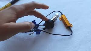diy how to install led blinker turn signal resistors enlight