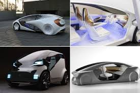 futuristic cars interior most futuristic cars of ces 2017 from the driverless to the pure