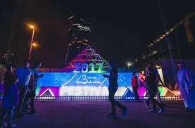 the lights fest ta 2017 the bahrain light festival concludes with remarkable success al