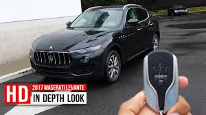 maserati models interior 2017 maserati levante suv in depth walkaround startup interior
