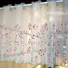 aliexpress com buy new arrival embroidery gauze pipe curtains