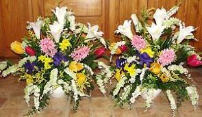 church flower arrangements flower arrangements church silk wedding altar vases