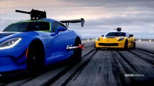corvette on top gear viper vs top gear mondays on america