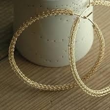 big gold hoop earrings hoop ohrringe große gold creolen zigeuner bohemian mode