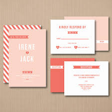 Wedding Invitations With Response Cards Modern Wedding Invitations Response Cards And Reception Cards