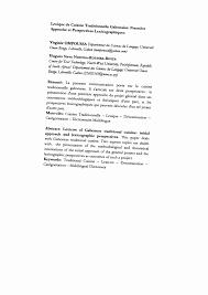 lexique de cuisine lexique de cuisine traditionnelle pdf available