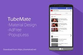 tubemate 2 2 5 638 adfree material design mod apk android