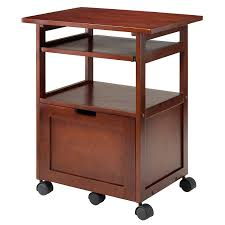 Under Desk Printer Stand With Wheels Home Printer Stands Shop Amazon Com