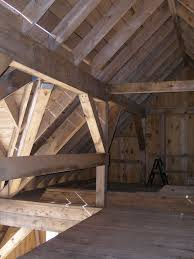 custom barn home interior beams of christmas tree barn