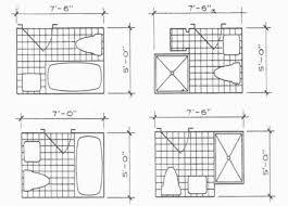 Length Of A Standard Bathtub Standard Size Of Bathroom Standard Bathroom Size Bathroom Layouts