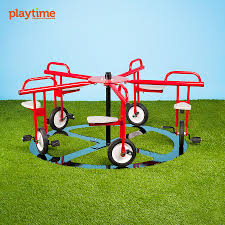 merry go cycle 5 seat circle cycle outdoor playsets commercial