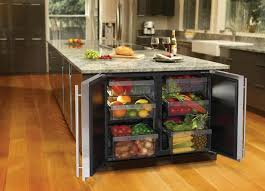 kitchen island with refrigerator kitchen idea fridge at the end of kitchen island storage cabinets
