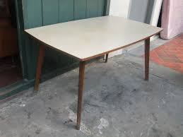 retro dining table extra large vintage dining table by johannes