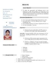 Resume For Computer Operator Job by Sample Resume Computer Operator Fresher Sales Operator