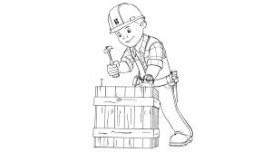 bob builder sheets bob builder coloring pages