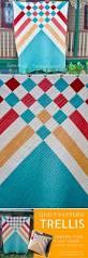 quilt pattern trellis u2013 beginner modern quilt beginners quilt