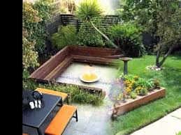 Simple Patio Ideas For Small Backyards Diy Small Backyard Garden Ideas Youtube