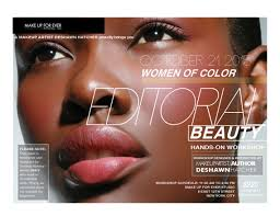 Make Up Classes For Beginners Deshawn Hatcher Makeup Artist Editorial Beauty For Women Of Color