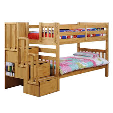 Low Loft Bunk Beds With Stairs Modern Bedroom Furniture Bunk - Solid oak bunk beds with stairs