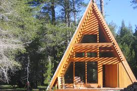 a frame homes cabin rentals a door to the a frame cabin