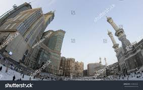 skyline abraj al bait royal clock stock photo 142844233 shutterstock