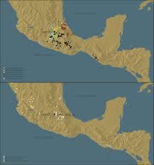 Mesoamerica Map Mesolore A Research U0026 Teaching Tool On Mesoamerica