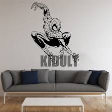 Poster Wallpaper For Bedrooms Online Buy Wholesale Spiderman Bedroom Wallpaper From China