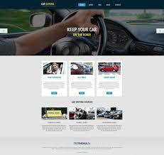 free website templates dreamweaver 20 best driving school website templates free premium templates driving school templates free demo download