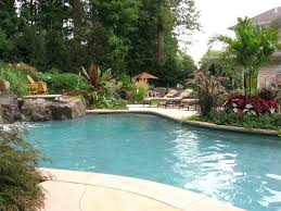 landscape ideas around pool area perfect landscaping ideas around
