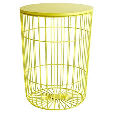 Yellow Side Table Uk Wonderfull Wire Side Table Images Monikakrl Info