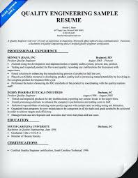 engineer resume template quality engineer resume quality engineer resume sle doc resume