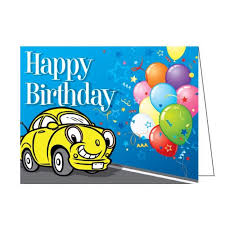 designed with your auto dealership in mind happy birthday cards