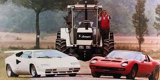what year did lamborghini start cars tractors the on lambocars com