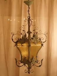 Wrought Iron Chandelier Uk L184 S Sublime Vintage French Wrought Iron And Toleware Lantern