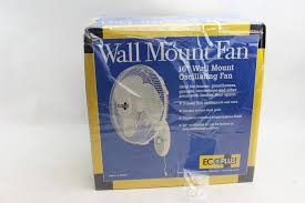 ecoplus wall mount fan eco plus hurricane supreme wall mount fan oscillating 16 inch 736505