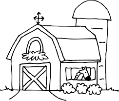 trend barn coloring page 24 barn house coloring page in coloring
