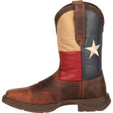 men u0027s patriotic pull on texas flag western boot durango