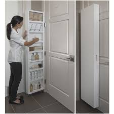 cabidor mirrored storage cabinet cabidor classic behind the door concealed storage cabinet white